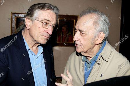 Stock Picture of Robert De Niro and Al Kresch