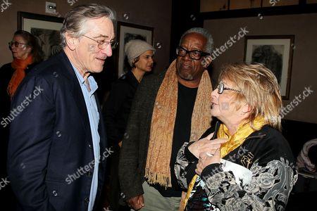 Robert De Niro, Stanley Whitney and Joyce Pensato