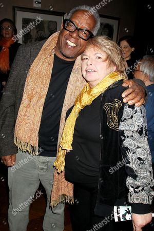 Joyce Pensato and Stanley Whitney