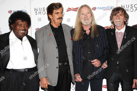 Stock Image of Percy Sledge, Rick Hall, Gregg Allman and Spooner Oldham