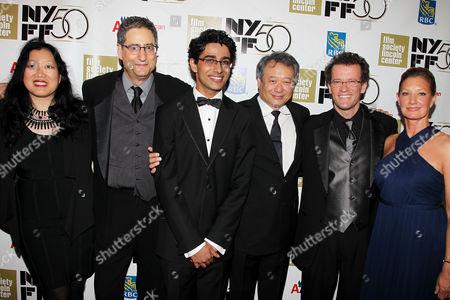 Rose Kuo, Tom Rothman, Suraj Sharma, Ang Lee, Yann Martel and Elizabeth Gabler
