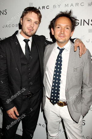 Michael Pitt and Will Bates