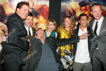 'Inkheart' cast; Brendan Fraser, Andy Serkis, Iain Softley, Eliza Hope Bennett, Sienna Guillory, Rafi Gavron, Paul Bettany