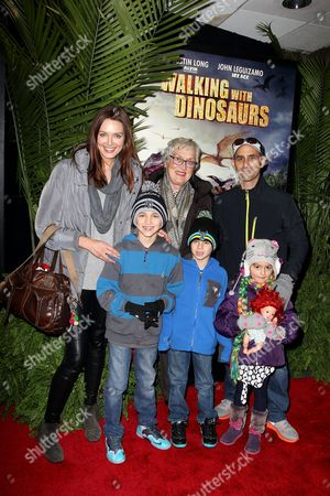 Stock Picture of Daniella Van Graas with family