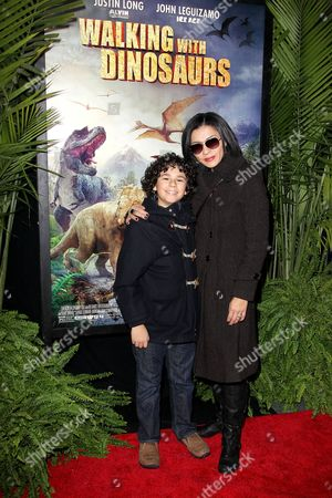 Editorial picture of 'Walking With Dinosaurs 3D' film screening, New York, America - 15 Dec 2013