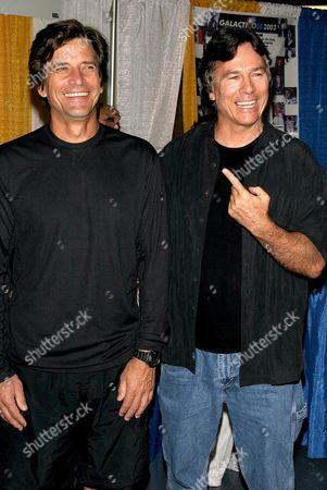 Dirk Benedict and Richard Hatch