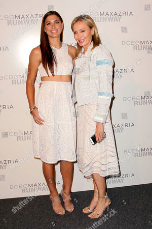 Alex Morgan and Lubov Azria