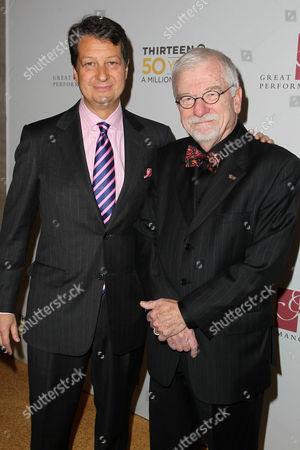 Neal Shapiro (Pres., THIRTEEN, WNET) and Bill Baker