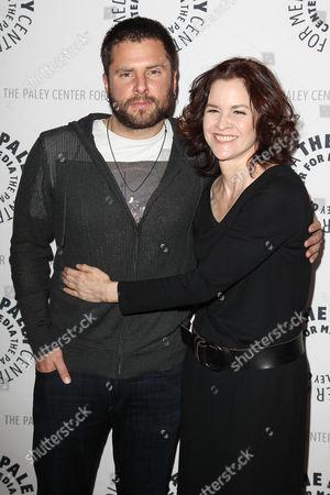 James Roday and Ally Sheedy