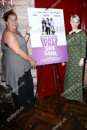 Editorial picture of 'That's What She Said' film Premiere Party, New York, America - 19 Oct 2012
