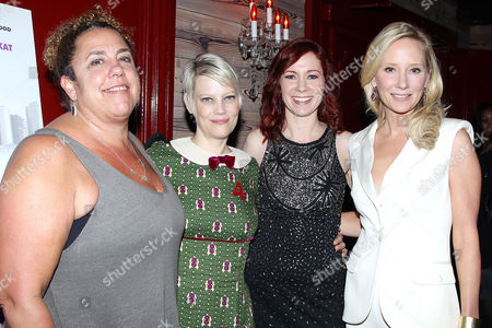 Marcia DeBonis, Kellie Overbey, Carrie Preston and Anne Heche