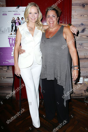 Stock Photo of Anne Heche and Marcia DeBonis