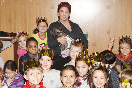 Editorial picture of Melissa Gilbert reads her book 'Daisy and Josephine' at Barnes and Noble, New York, America - 21 Jan 2014