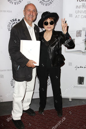 Editorial picture of An Evening with Yoko Ono, New York, America - 11 Nov 2014