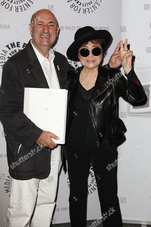 Anthony DeCurtis and Yoko Ono