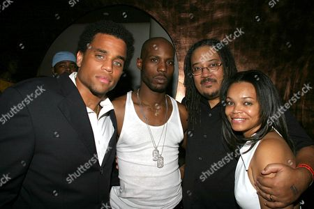 Michael Ealy, DMX, Ernest Dickerson and Dion Fearton