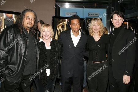 Ernest Dickerson, Nancy Utley, Michael Ealy, Breena Camden and Peter Rice