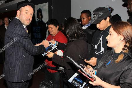 Paul McGuigan with fans