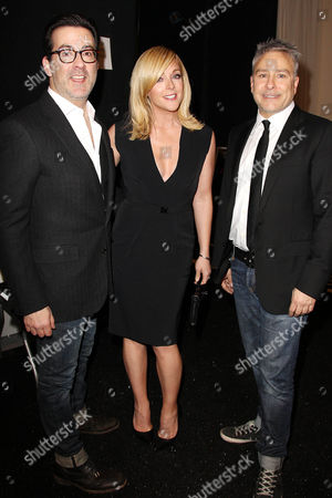 Ken Kaufman, Jane Krakowski and Isaac Franco