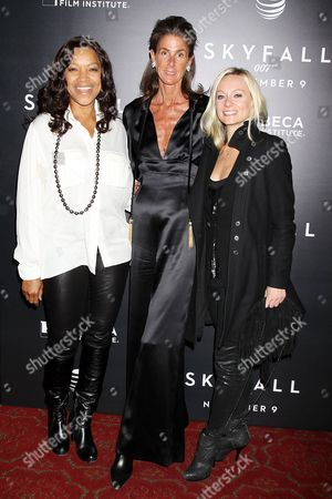 Grace Hightower De Niro, Somers Farkas and Simone De Larue