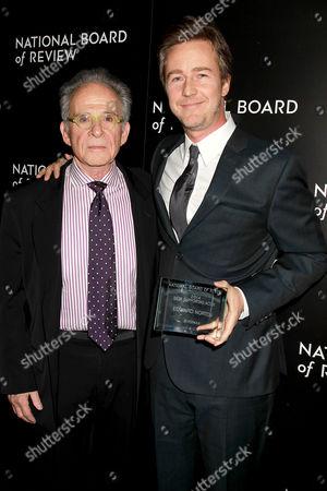 Ron Rifkin and Edward Norton