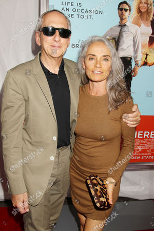 Stock Image of Michael Shamberg (Producer) with wife Carla Shamberg