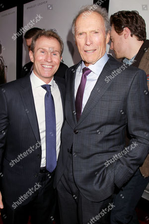Andrew Lazar and Clint Eastwood