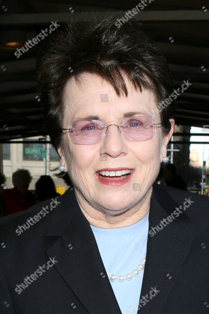 Stock Picture of Billy Jean King