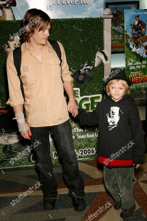 Norman Reedus with son Mingus