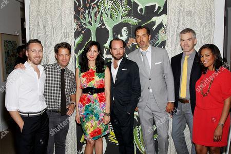 Joshua Greene (Shagreene), Nate Berkus, Laura Kirar, Pierre Frey, Steven Gambrel, Jesse Carrier, Nicole Gibbons (SoHaute)