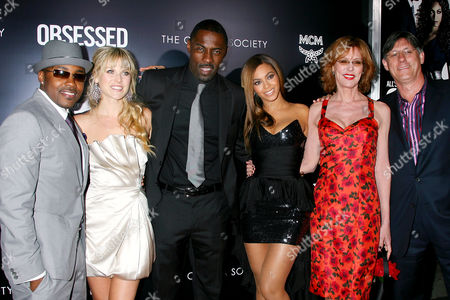 Producer Will Packer, Ali Larter, Idris Elba, Beyonce Knowles, Christine Lahti and Director Steve Shill