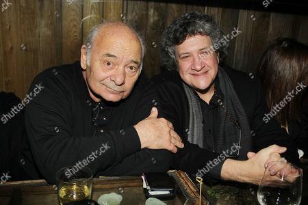 Burt Young and Raymond De Felitta (Director)