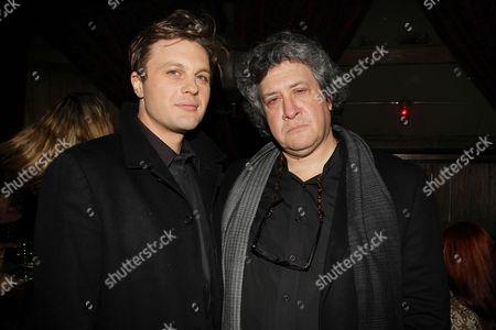 Michael Pitt and Raymond De Felitta (Director)