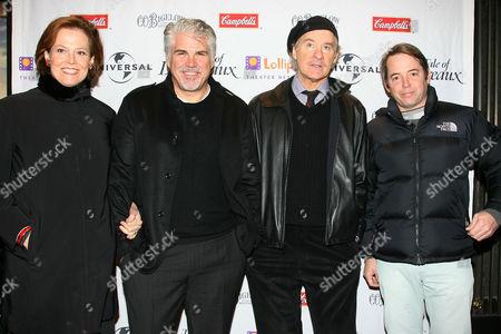Sigourney Weaver, Gary Ross , Matthew Broderick and Kevin Kline
