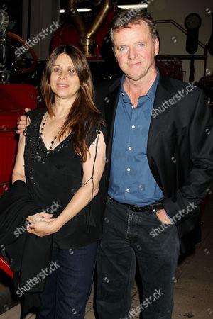 Elizabeth Bracco and Aidan Quinn