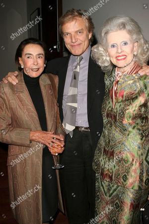 Mica Ertegun, Peter Martins and Judy Peabody