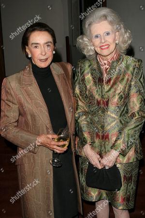 Mica Ertegun and Judy Peabody