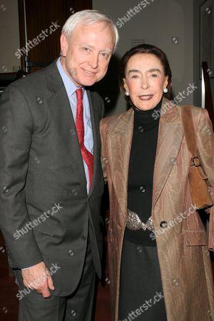 Randy Bouscheidt and Mica Ertegun