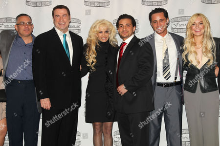 Imagen editorial de 'Gotti -Three Generations' Press Conference, New York, America - 12 Apr 2011