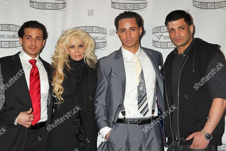 Stock Photo of John Agnello, Victoria Gotti, Carmine Agnello Gotti and Frank Agnello