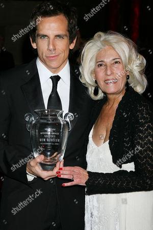 Ben Stiller and Rochelle Slovin