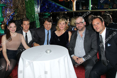 Stock Photo of Anna Hopkins, Scott Speedman, Robert Lantos (Producer), Kim Cattrall, Paul Giamatti, Ari Lantos (Producer)