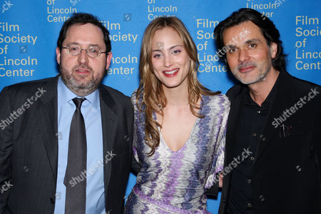 Michael Barker (Sony Pictures Classics Co-President), Nora Arnezeder and Christophe Barratier (Director)