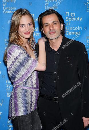 Nora Arnezeder and Christophe Barratier (Director)