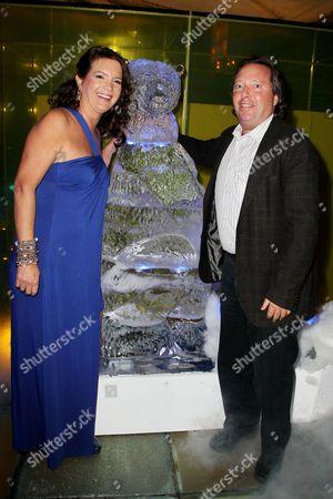 Richard Gelfond (CEO, IMAX) and Peggy Gelfond