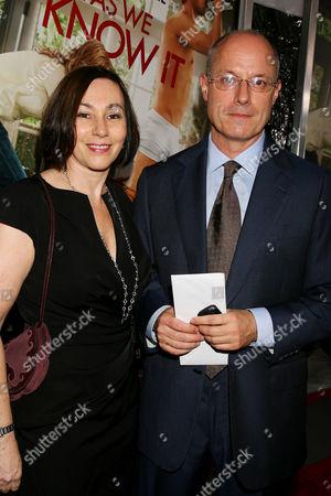 Paul Brooks (Producer) and wife Kate Brooks