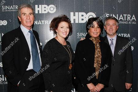 Bob Finkelstein,Sharon Hall, Tina Sinatra, Charles Pignone