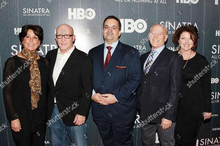 Tina Sinatra, Alex Gibney, Kary Antholis, Frank Marshall, Sharon Hal
