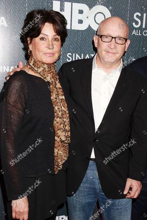 Tina Sinatra and Alex Gibney