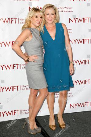 Stock Image of Ramona Singer and Pamela Morgan